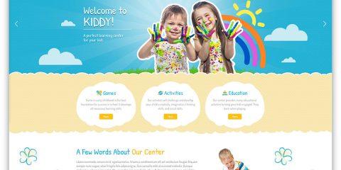 Webová stránka a web Pre deti - Detské atrakcie - Zábavu