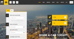 Tvorba a realizácia webuwebových stránok pre autobazár