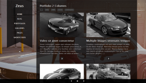 Webové stránky pre Autodopravu