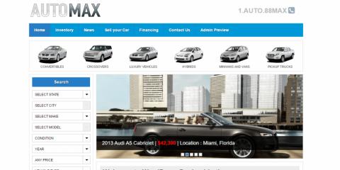 Webové stránky pre Autopožičovňe - Kamiónovú dopravu - Autodopravu