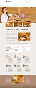 Webové stránky pre Kúpaliska - Wellness - Sauny - Masážny salón (8)