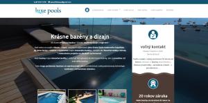 Webové stránky pre Masážny salón