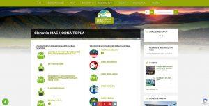 Web pre občianské združenie