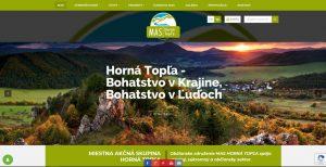 Webová stránka pre občianské združenie
