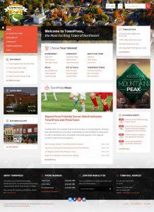 Webová stránka pre neziskovú organizáciu